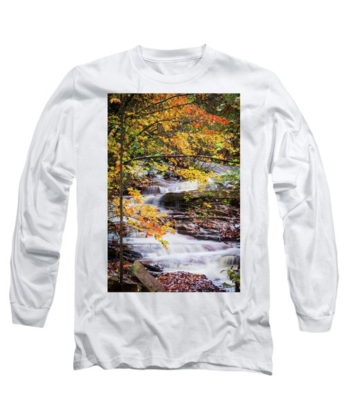 Long Sleeve T-Shirt featuring the photograph Farmed With Golden Colors by Parker Cunningham