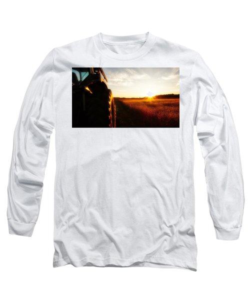 Farming Until Sunset Long Sleeve T-Shirt