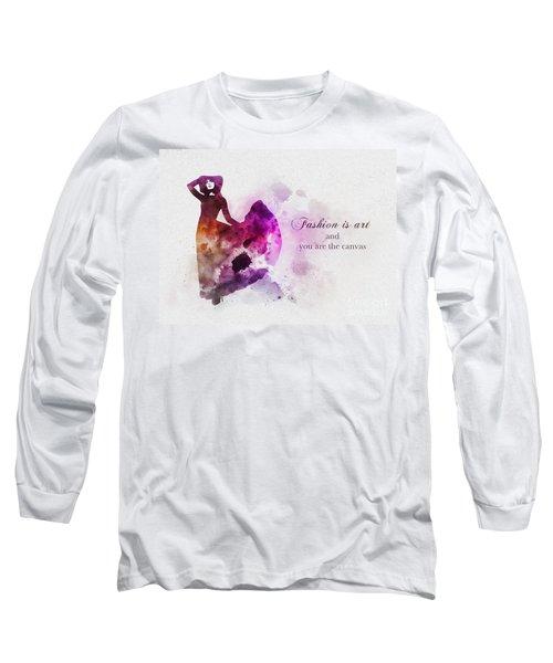 Fashion Is Art Long Sleeve T-Shirt