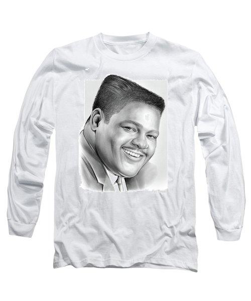 Fats Domino Long Sleeve T-Shirt