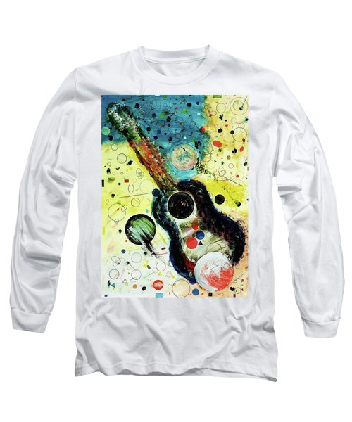 Long Sleeve T-Shirt featuring the mixed media Favorites by Michael Lucarelli