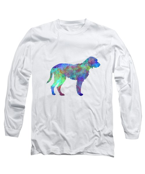 Fawn Brittany Griffon In Watercolor Long Sleeve T-Shirt