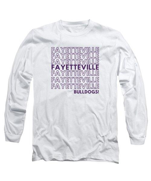 Fayetteville Bulldogs Long Sleeve T-Shirt
