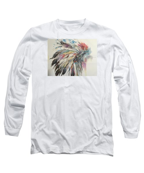 Feather Hawk Long Sleeve T-Shirt