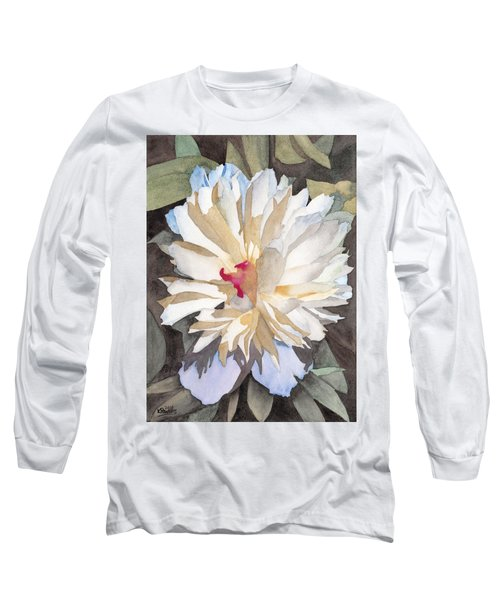 Feathery Flower Long Sleeve T-Shirt