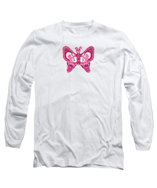 February Butterfly Long Sleeve T-Shirt
