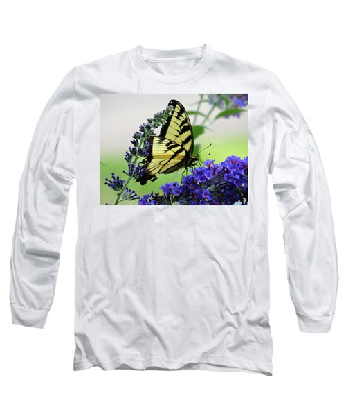 Feeding From A Nectar Plant Long Sleeve T-Shirt