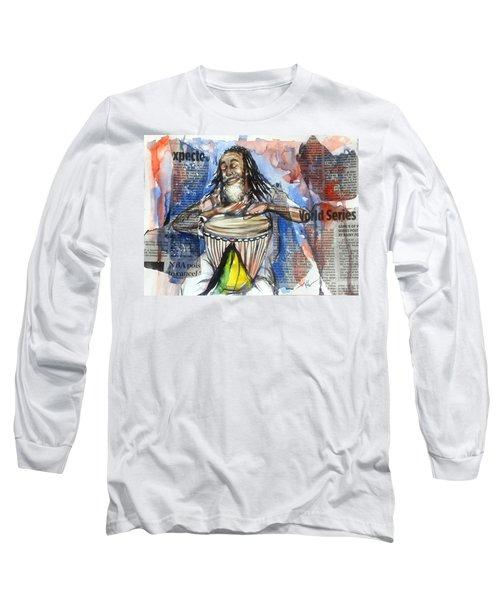 Feel The Rhythm Long Sleeve T-Shirt