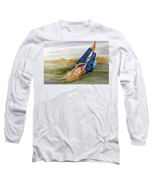Feelin The Wind Long Sleeve T-Shirt