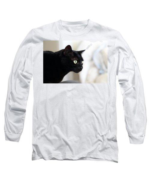 Feline On The Prowl Long Sleeve T-Shirt