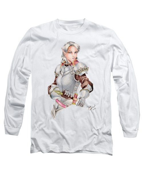 Female Elf Long Sleeve T-Shirt