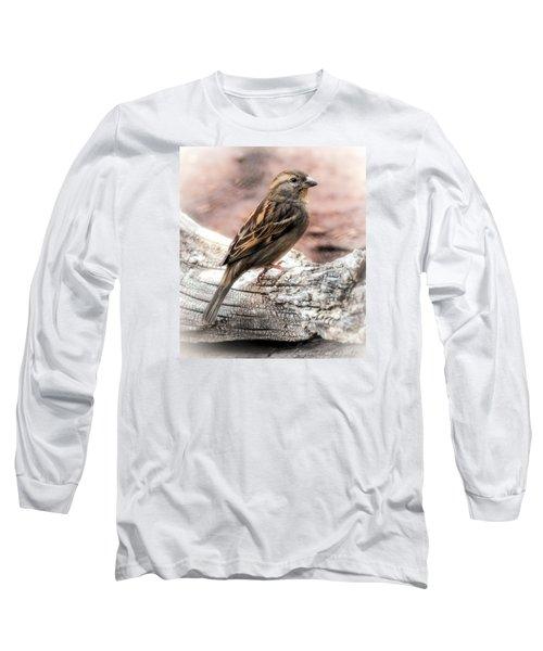 Female Sparrow Long Sleeve T-Shirt