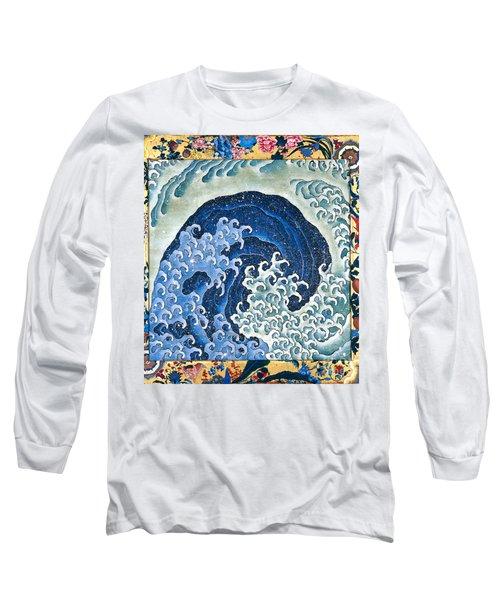 Femenine Wave Long Sleeve T-Shirt by Roberto Prusso