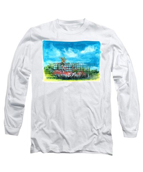 Fenceline Floral Long Sleeve T-Shirt