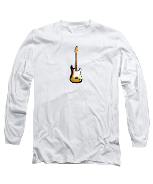 Fender Stratocaster 65 Long Sleeve T-Shirt by Mark Rogan