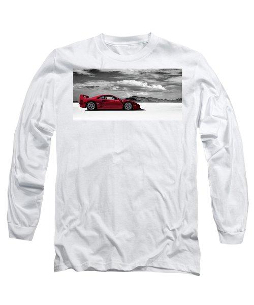 Ferrari F40 Long Sleeve T-Shirt