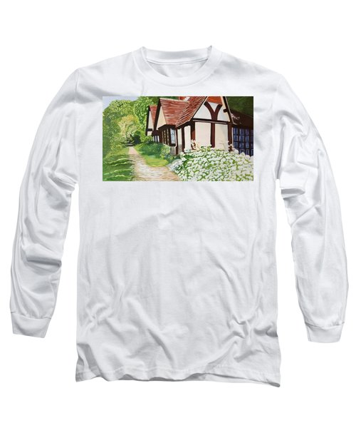 Ferry Cottage Long Sleeve T-Shirt by Joanne Perkins