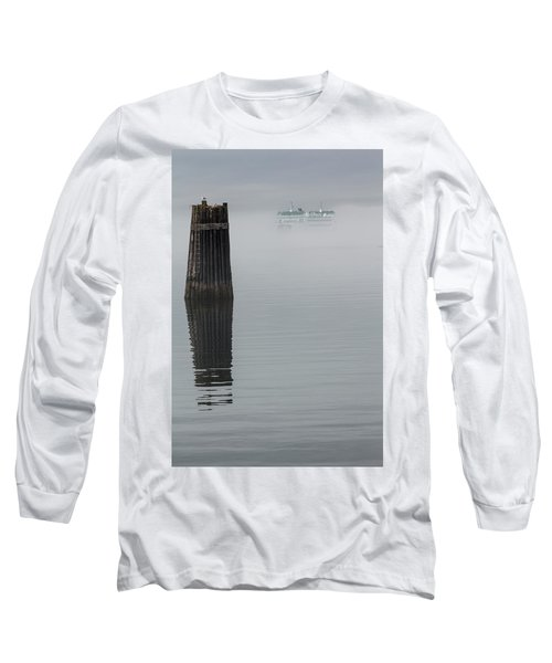 Ferry Hiding In The Fog Long Sleeve T-Shirt