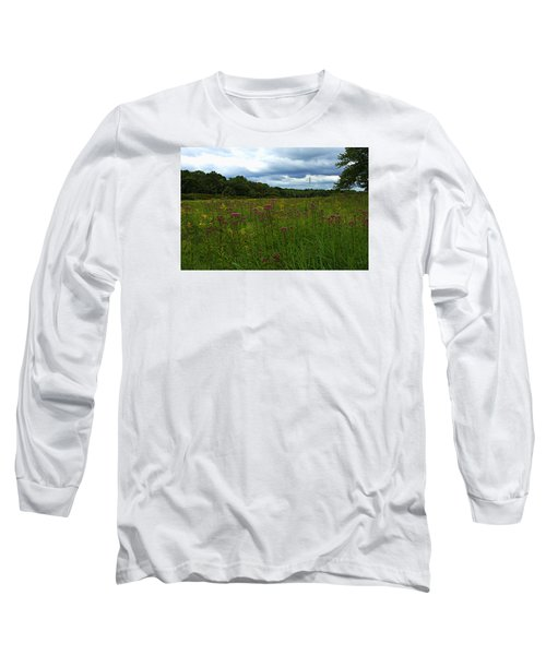 Long Sleeve T-Shirt featuring the photograph Field Of Color by Bruce Carpenter
