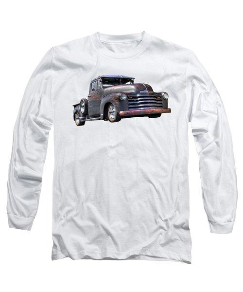 Fifties Rust - 1951 Chevy Long Sleeve T-Shirt