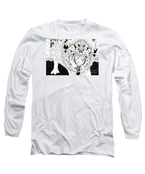 Figments Of Imagination - The Beast Long Sleeve T-Shirt