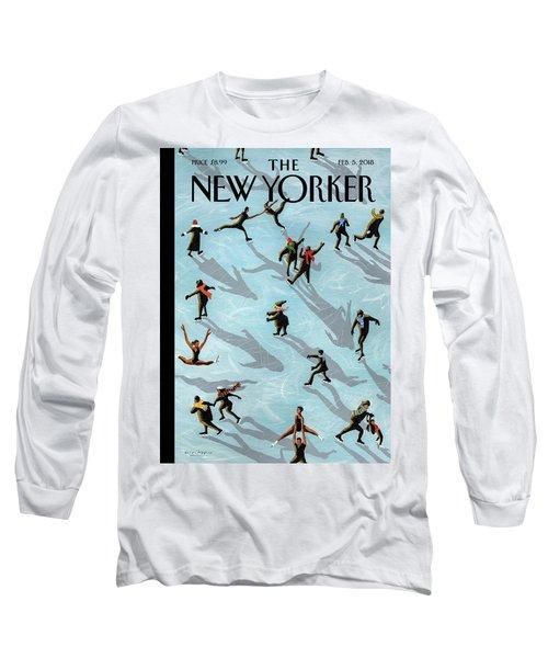 Figured Skaters Long Sleeve T-Shirt