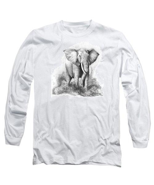 Final Warning Long Sleeve T-Shirt by Phyllis Howard