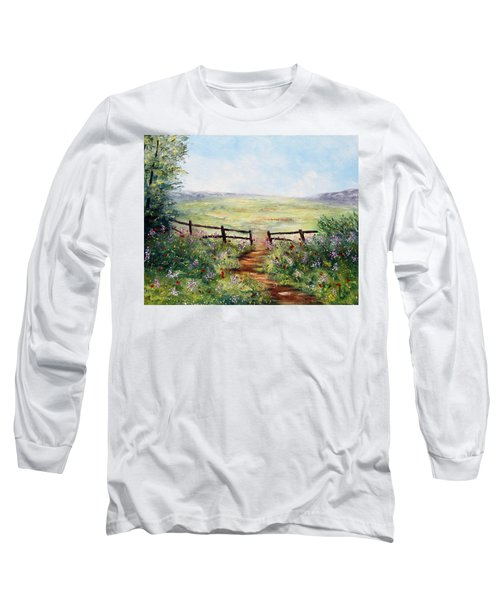 Finding Pasture Long Sleeve T-Shirt