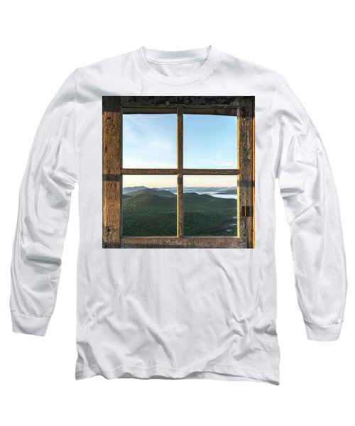 Fire Tower Frame Long Sleeve T-Shirt