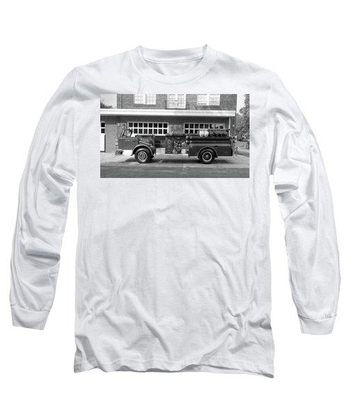 Fire Truck Long Sleeve T-Shirt