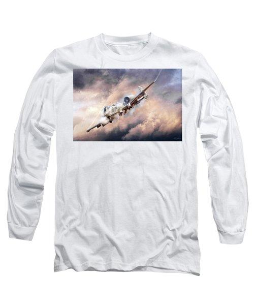 Firestorm Long Sleeve T-Shirt by Peter Chilelli