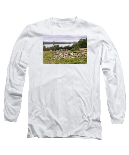 Firewood And Ice Houses Long Sleeve T-Shirt