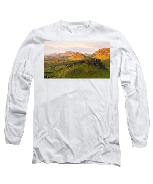 First Light On The Quairing  Long Sleeve T-Shirt