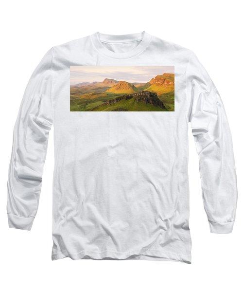 First Light Trotternish Panorama Long Sleeve T-Shirt