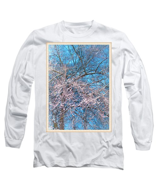 First Snow At Dawn Long Sleeve T-Shirt
