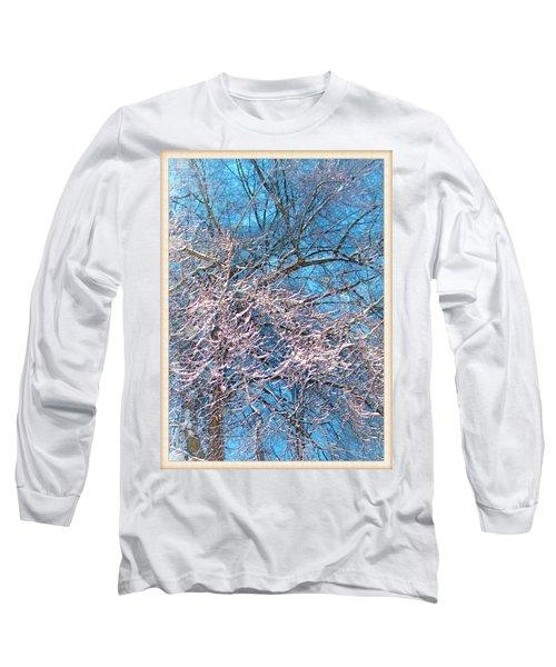 First Snow At Dawn Long Sleeve T-Shirt
