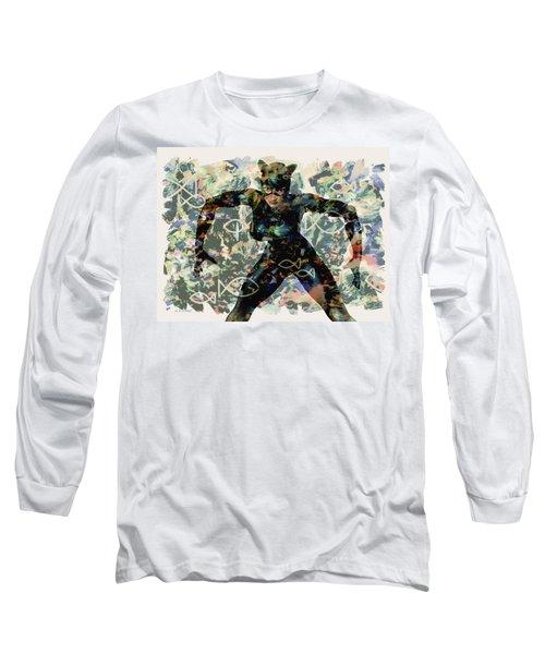 Fish And Kitty Long Sleeve T-Shirt