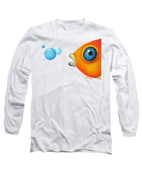 Fish Bubbles Long Sleeve T-Shirt