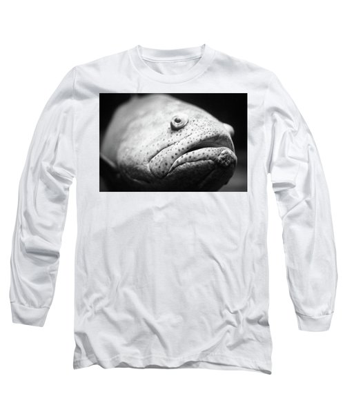 Fish Face Long Sleeve T-Shirt