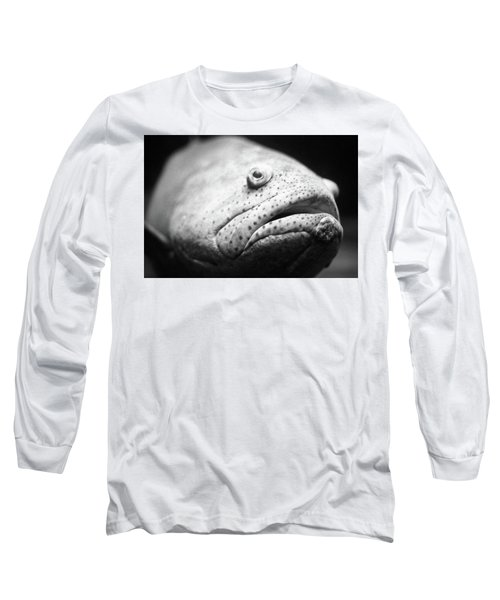 Fish Face Long Sleeve T-Shirt