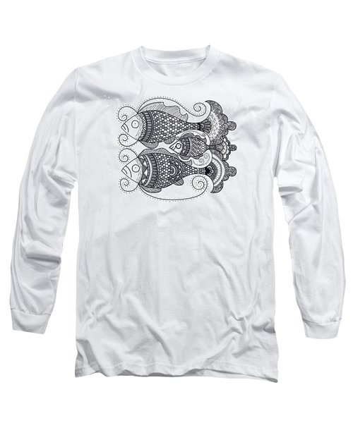 Fish Family Long Sleeve T-Shirt