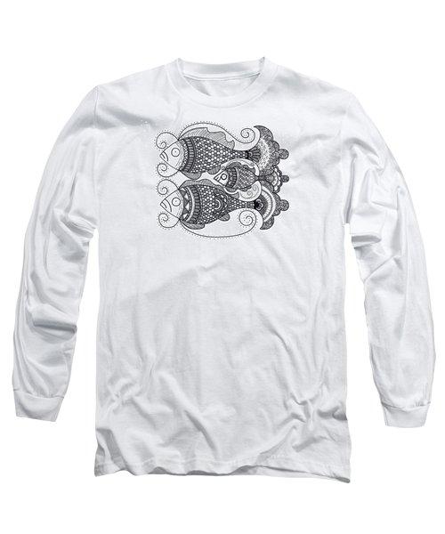 Fish Family Long Sleeve T-Shirt