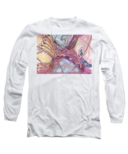 Fish Feathers Long Sleeve T-Shirt