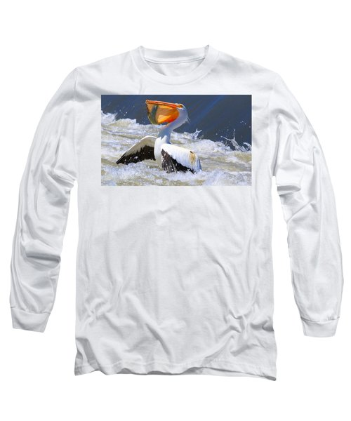 Fish For Dinner Long Sleeve T-Shirt