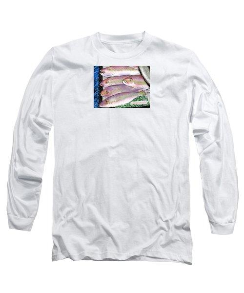 Fish Market Long Sleeve T-Shirt