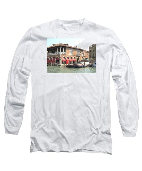 Fish Market Venise Long Sleeve T-Shirt by Lisa Boyd
