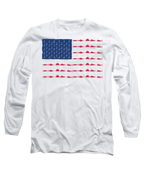 Fish Offshore Usa Long Sleeve T-Shirt