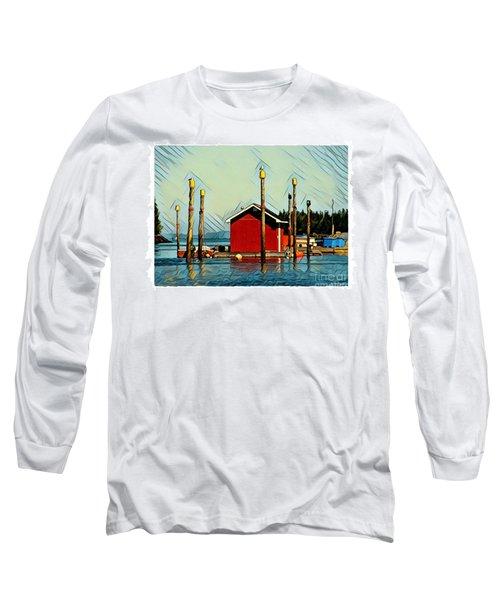 Fish Shack, Campobello Long Sleeve T-Shirt