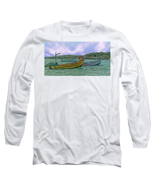 Fishermen's Wharf Long Sleeve T-Shirt
