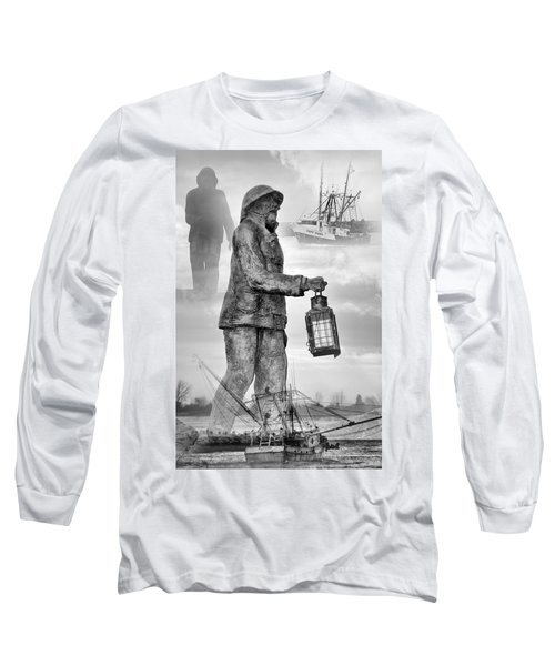 Fishermen - Jersey Shore Long Sleeve T-Shirt